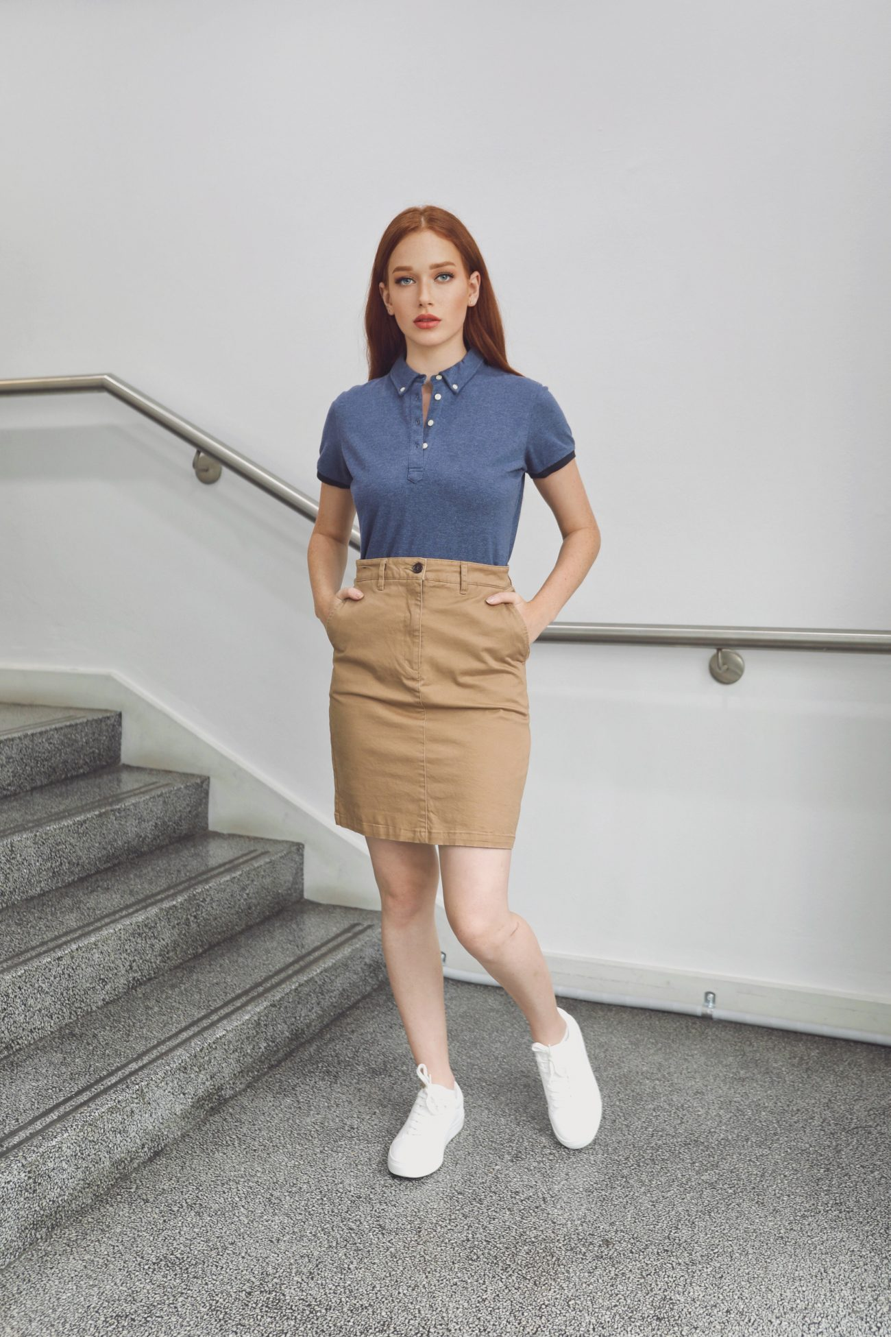 Polo and Chino Skirt
