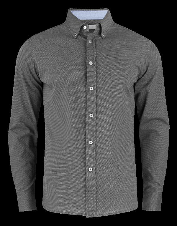 Burlingham Shirt Black