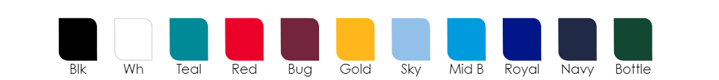 year 12 jersey colour options