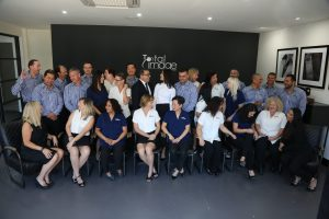 Total Image group Staff photo looking